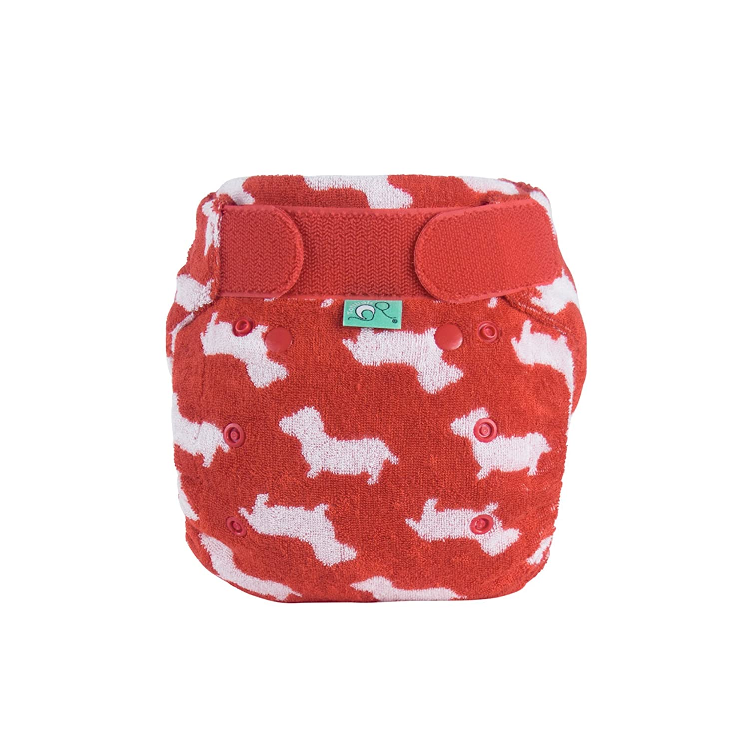 TotsBots Bamboozle Washable Reusable Nappy, Size 2, 9 to 35 lbs, Scamp Design Tots Bots Limited 5060510761902