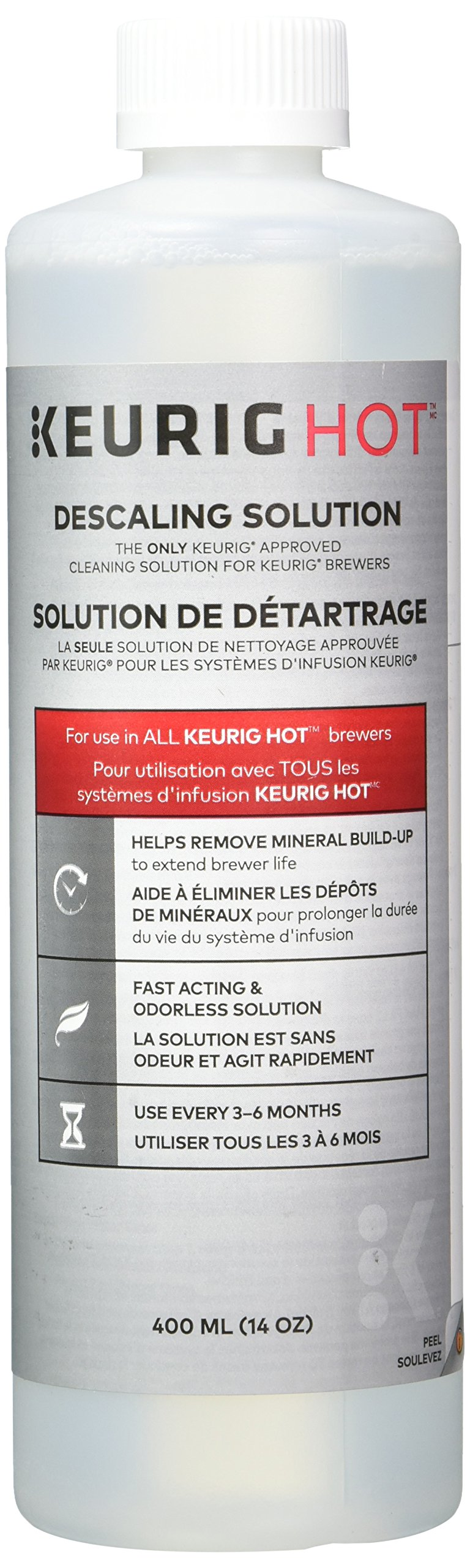 Keurig Descaling Solution For All Keurig 2.0 and 1.0 K-Cup Pod Coffee Makers by Keurig