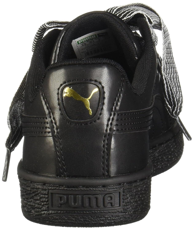 45fe9a72eb0 PUMA Women's Basket Heart Wn US Puma Sneaker B07521KRJ4 10.5 M US ...