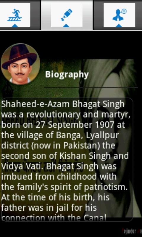 bhagat singh biography in english
