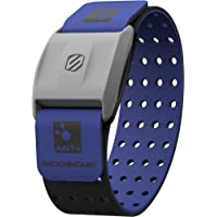 Scosche Rhythm Heart Rate Monitor Armband Blue Various