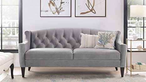 Amazon.com: Jennifer Taylor Home 63001-3-865 Ken Sofa, Opal ...