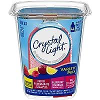 Crystal Light Lemonade, Raspberry Lemonade, Wild Strawberry & Cherry Pomegranate...