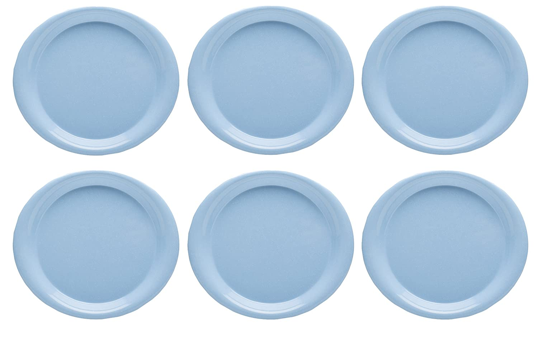 Amazon.com Zak Designs Zakwave 10-inch Microwavable Plate Blue 6 piece set Kitchen u0026 Dining  sc 1 st  Amazon.com & Amazon.com: Zak Designs Zakwave 10-inch Microwavable Plate Blue 6 ...