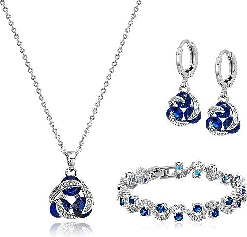 Elegant Women Silver Jewelry Set Women Silver Ring Silver Pendant Formal Jewelry Set Sterling Silver 925 Jewelry Set Silver Earring