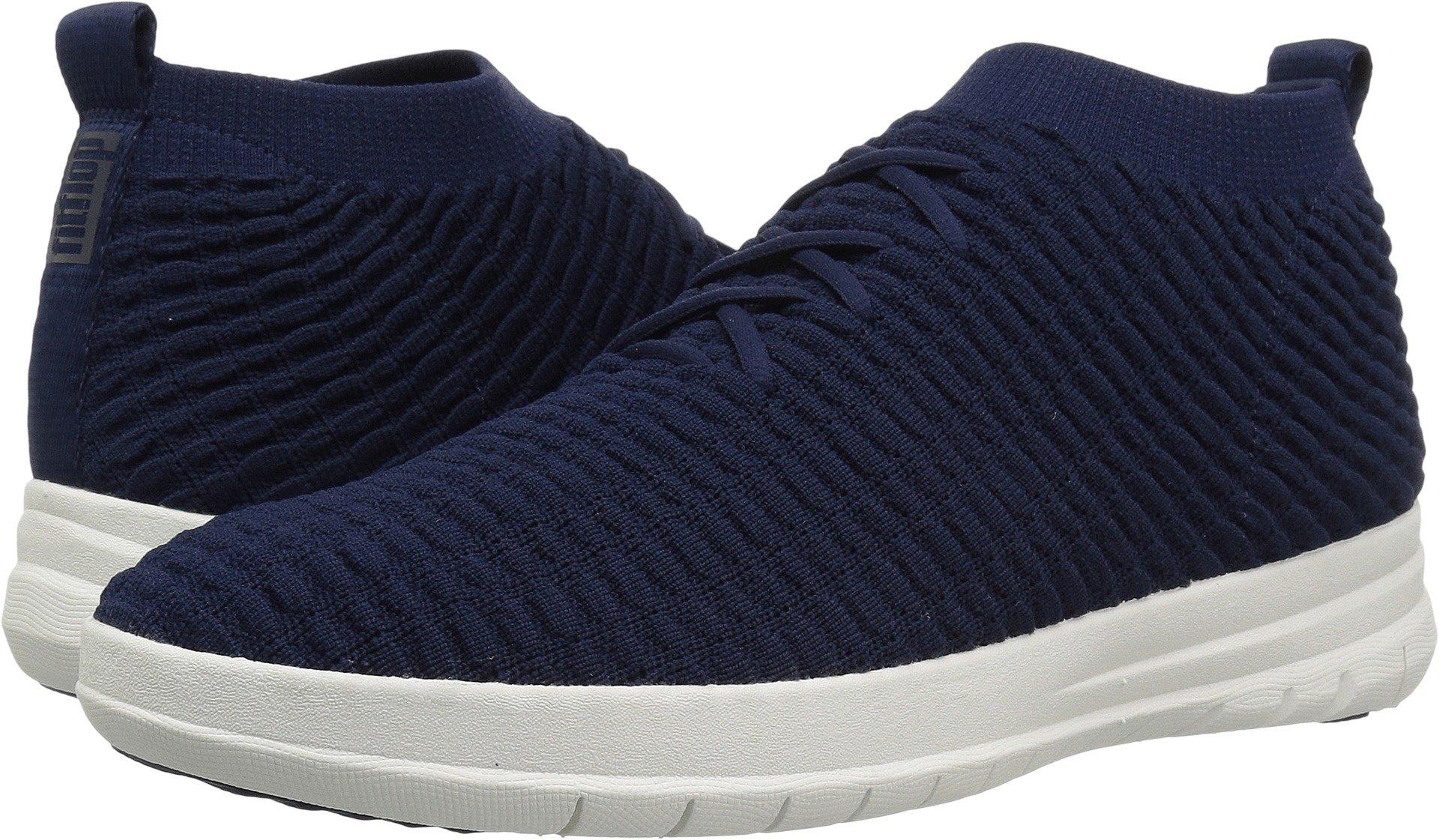 5bdef3877391 Galleon - FitFlop Men s Uberknit Slip-ON HIGH TOP Sneaker In Waffle Knit