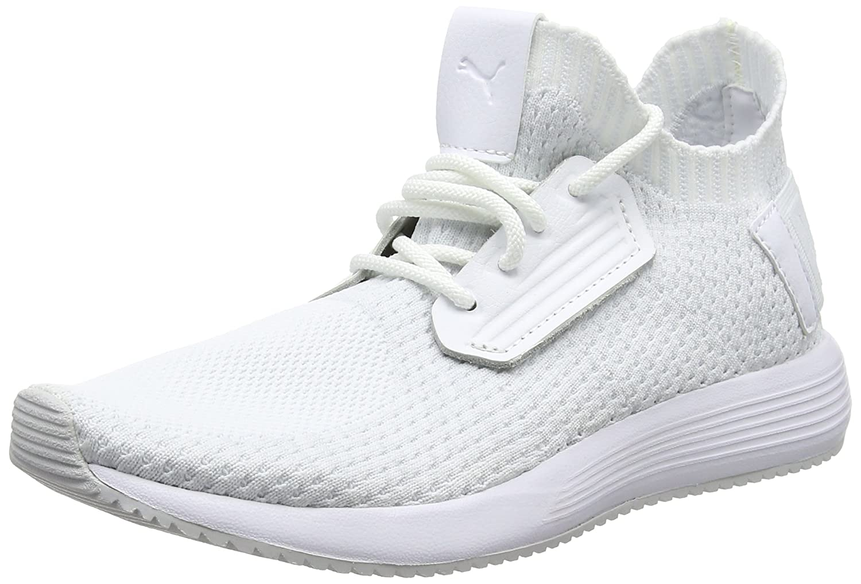 wholesale dealer a2a7f 9473a Puma Unisex-Erwachsene Uprise Knit Sneaker 40.5 EUWei (Puma White-