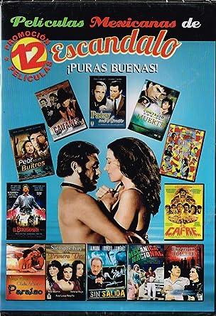 12 PELICULAS MEXICANAS DE ESCANDALO (LOS CAIFANES & PATSY MI AMOR & CONTRATO CON LA
