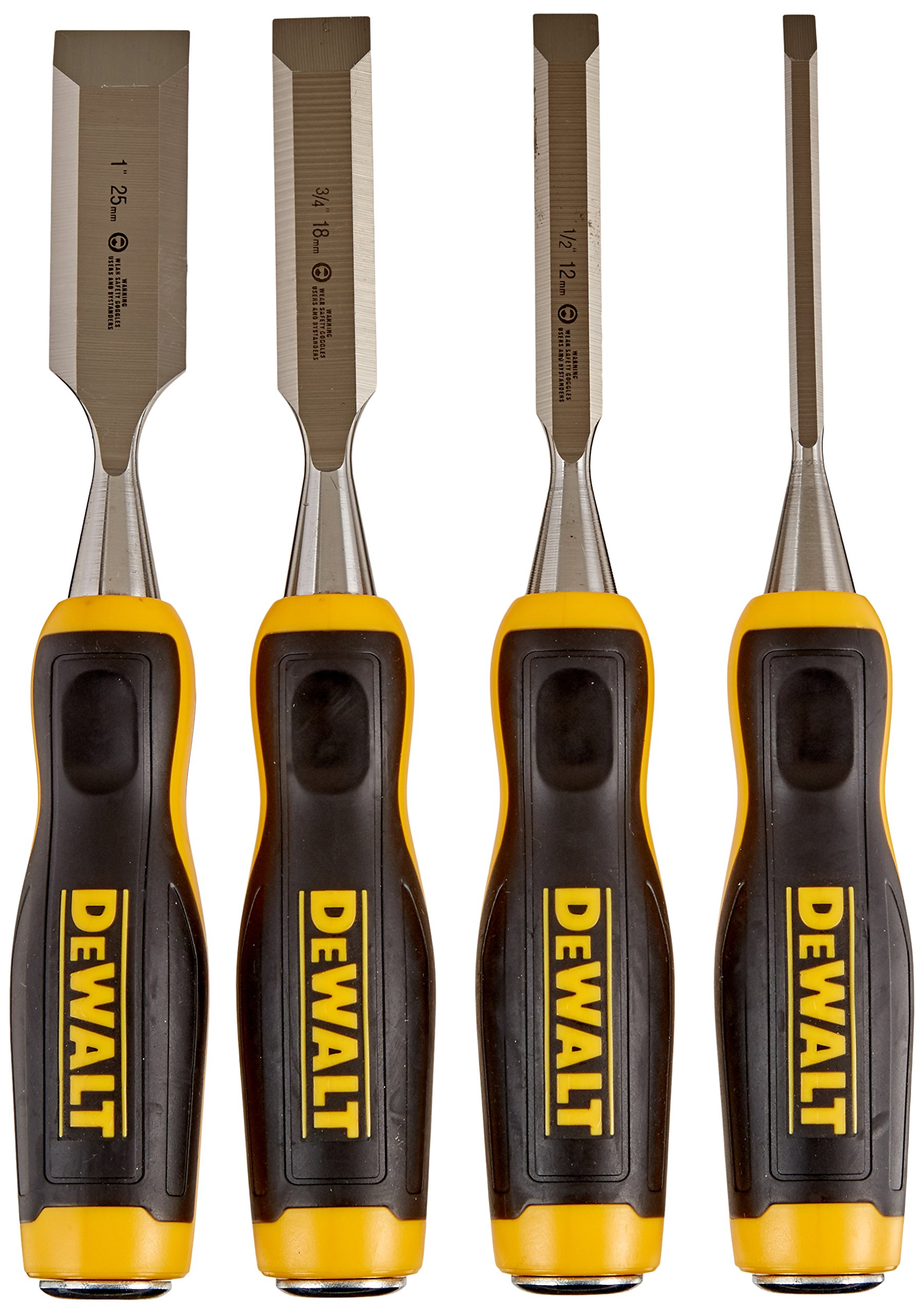 DEWALT DWHT16063 Short Blade Wood Chisel 4piece set by DEWALT
