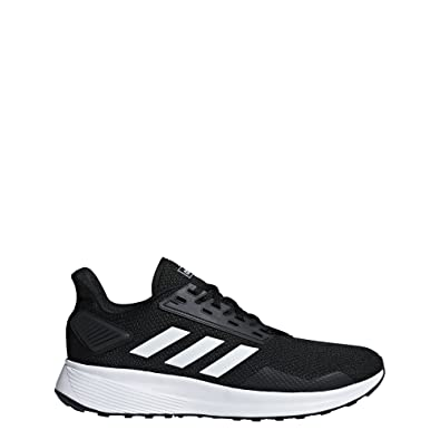 adidas Men s Duramo 9 Running Shoe White Black 6ea7fddb8