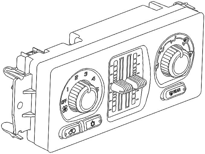 Amazon Com Acdelco 15 73066 Gm Original Equipment Heating And Air