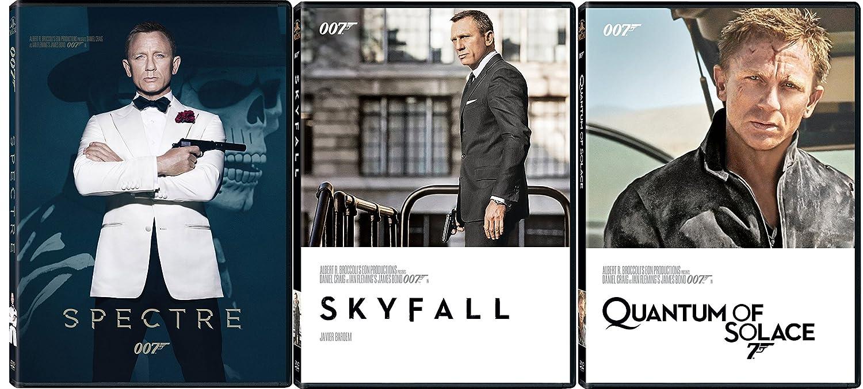 9125214232a43 Amazon.com: James Bond Film Collection 23/24/25 Quantum of Solace ...