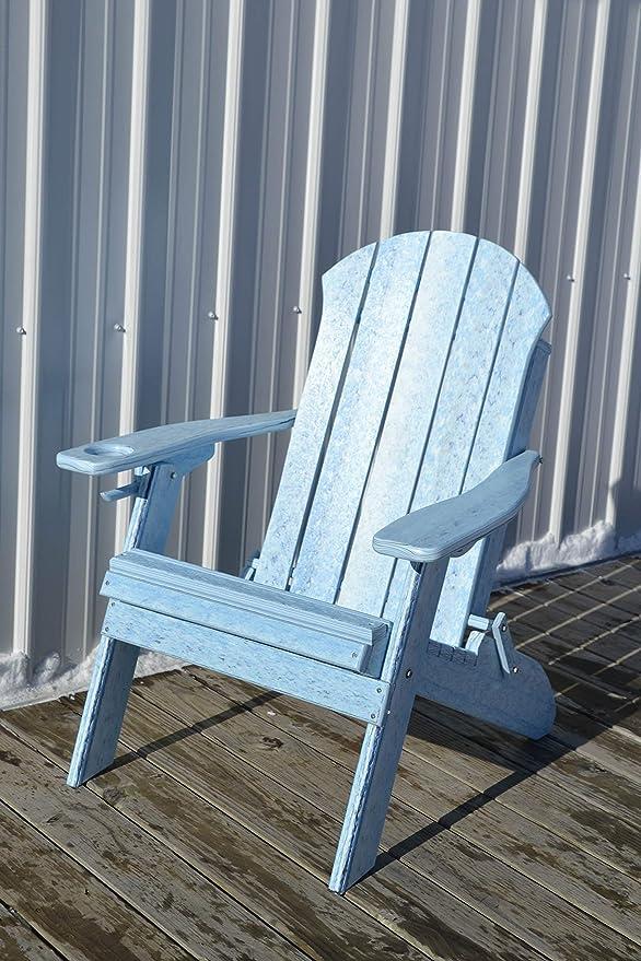 Amazon.com: Furniture Barn USA Seaside - Silla plegable con ...