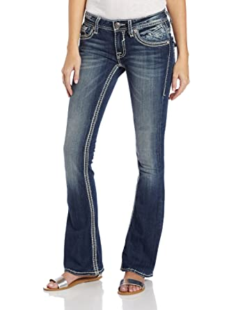 541cf8abb1c Amazon.com: VIGOSS Women's New York Bootcut Jean: Clothing