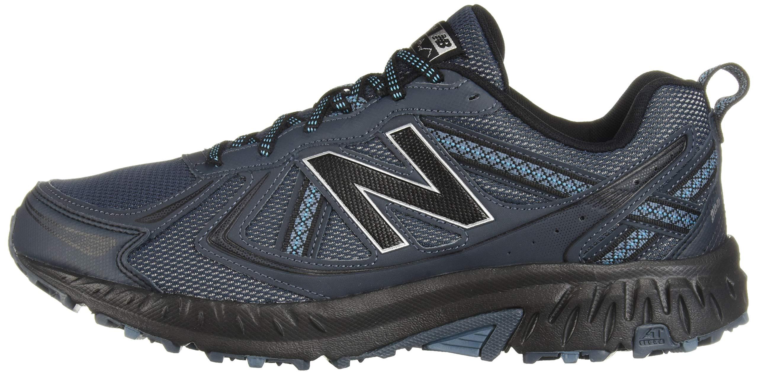 New Balance Men's 410v5 Cushioning Trail Running Shoe, Petrol/Cadet/Black, 7 D US by New Balance (Image #5)
