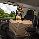 PetSafe Happy Ride Jumbo Booster Seat for Dogs - Elevated Pet Bed for Cars, Trucks and SUVs - Multiple Styles, Includes…