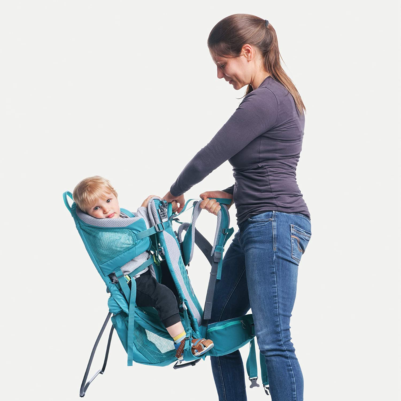 Womens Fit Child Carrier Backpack Deuter Kid Comfort Active SL