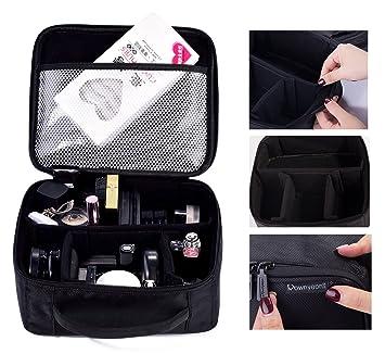 b02b1295bea0   Gifts for Women   ROWNYEON PU Leather Makeup Case Mini Makeup Bag Portable
