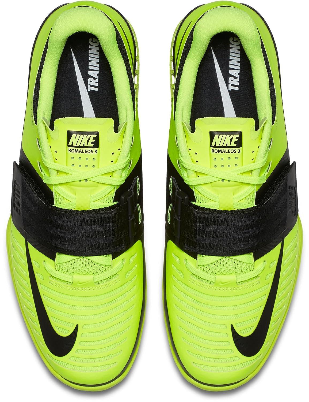 Nike NIKE852933 - Romaleos da Uomo, Giallo (Volt (Volt (Volt nero), 48 EU ca6853