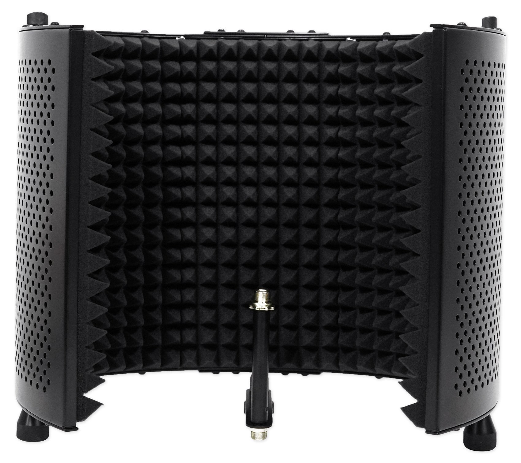 Rockville Recording Studio Microphone Isolation Shield + Heavy Duty Tripod Stand by Rockville (Image #2)