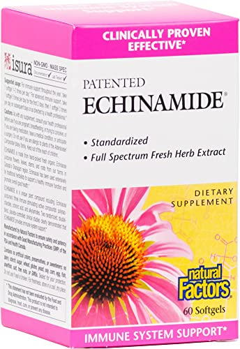Natural Factors – Echinamide, Immune System Support, 60 Soft Gels