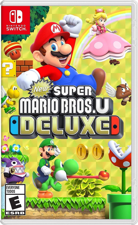New Super Mario Bros U Deluxe Nintendo Switch Standard Edition Mx Videojuegos