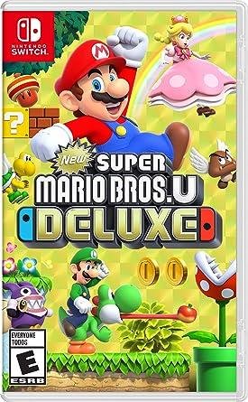 va a decidir El hotel Demonio  Amazon.com: New Super Mario Bros. U Deluxe - Nintendo Switch: Nintendo of  America: Video Games