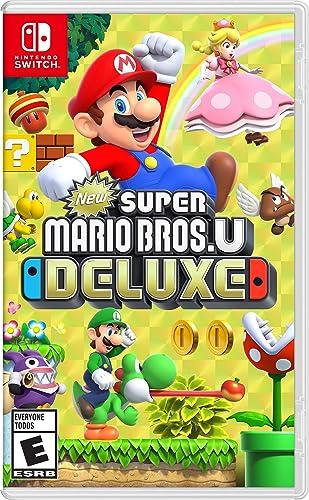 Amazon Com New Super Mario Bros U Deluxe Nintendo Switch Nintendo Of America Video Games