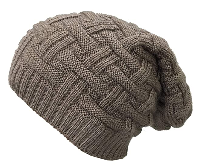 857648dc053 Image Unavailable. Image not available for. Colour  EASY4BUY Women s and  Men s Knitted Slouchy Beanie Woolen Cap ...