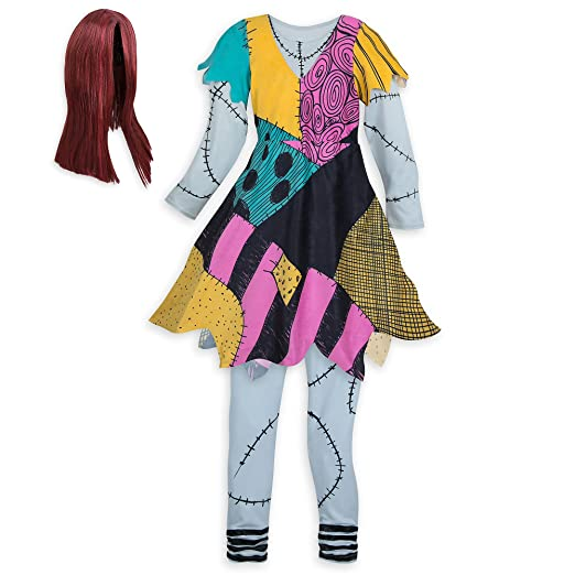 Disney Sally Costume for Kids - The Nightmare Before Christmas Size 3 Multi - Amazon.com: Disney Sally Costume For Kids - The Nightmare Before
