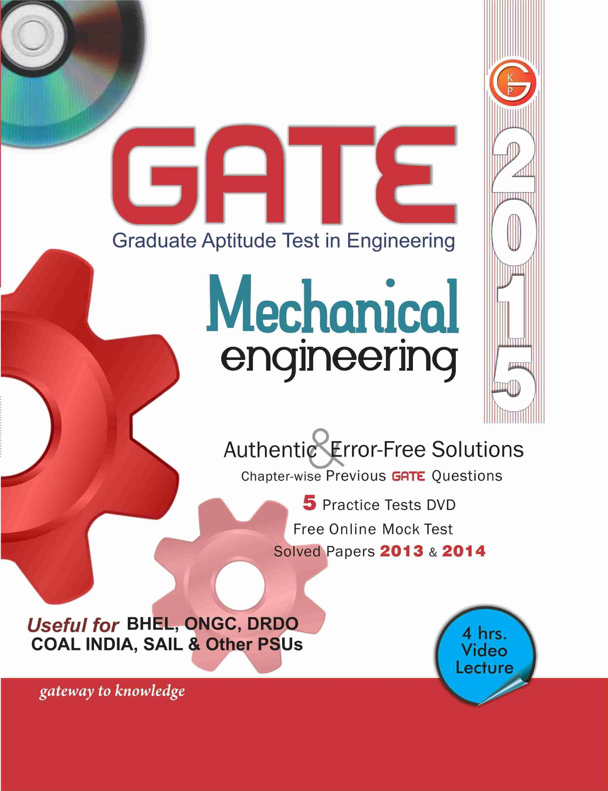 Gate 2015 Syllabus For Mechanical Pdf