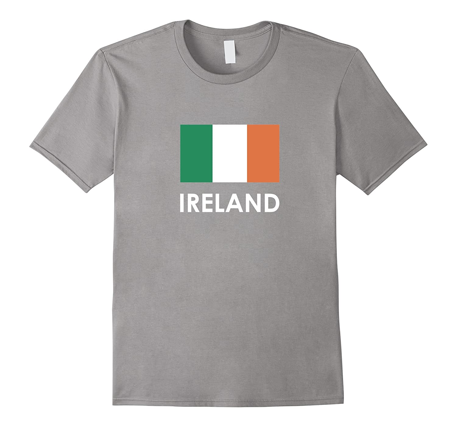 Ireland Flag T Shirt for Irish men women Loving Americans-CD