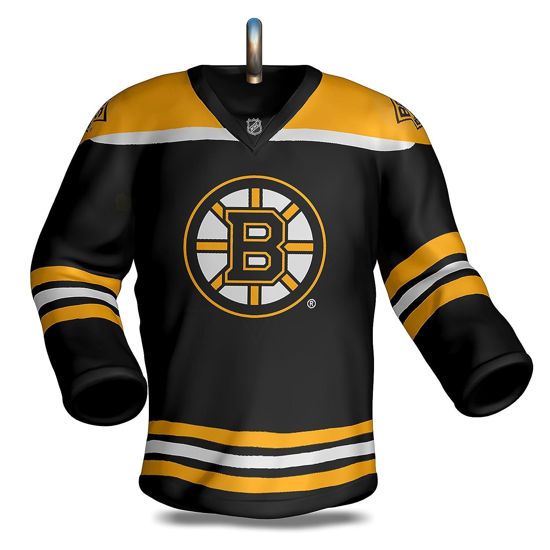 premium selection a25b7 dbc4e Hallmark Keepsake Christmas Ornament, NHL Boston Bruins Hockey Jersey