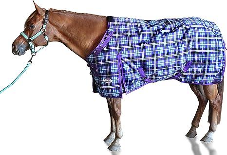 Derby Originals Heavy-Duty Triple Layer Two-Tone Nylon Horse Halters