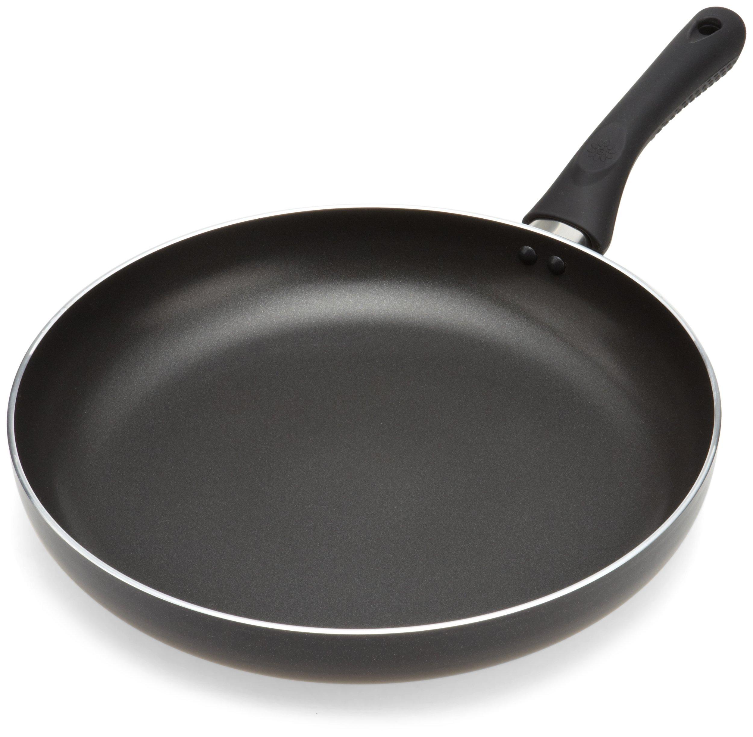Ecolution Artistry Nonstick Frying Pan - 12.5'' Large - Grande Skillet, Black