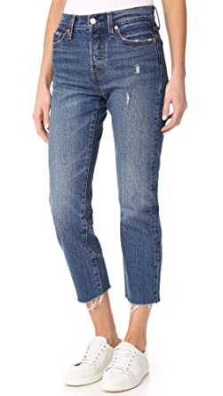 Levi S Women S Wedgie Straight Jeans At Amazon Women S Jeans Store