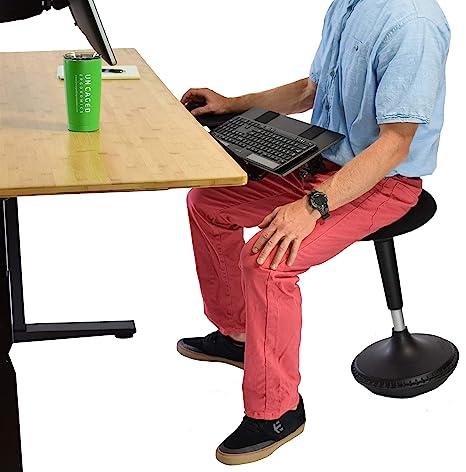 Amazoncom New Wobble Stool Adjustable Height Active Sitting