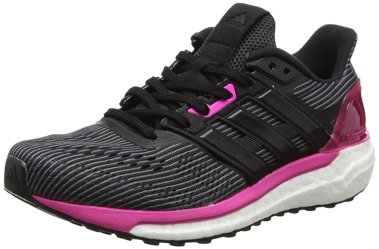 Adidas Supernova Glide 9 Zapatillas de Running para Mujer 36 EU|Negro (Utility Black /Core Black/Shock Pink )