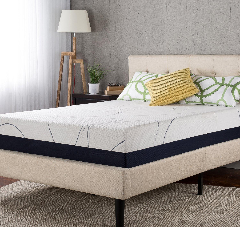 amazoncom night therapy mygel 12 inch memory foam mattress queen kitchen u0026 dining