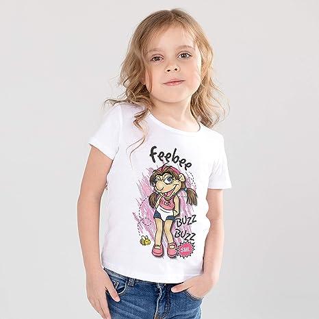 Unisexe Enfants Jeffy marionnette Vlogger youtuber Gamer Enfants Cartoon rouge Haut Tee 5 *