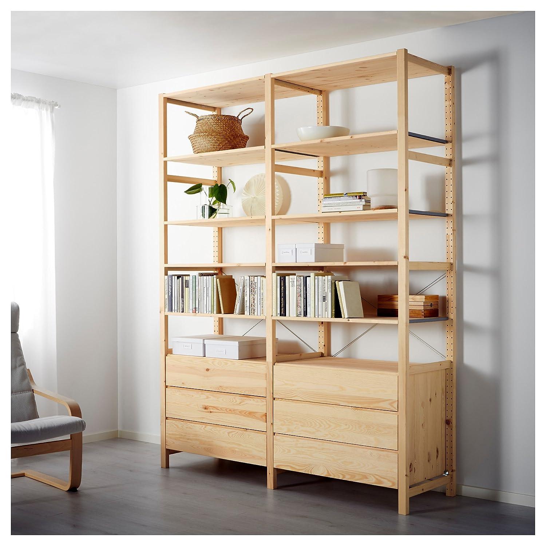 IKEA イケア IVAR 2セクション/シェルフ/チェスト 698.977.55,69897755 B01IDHYSMW