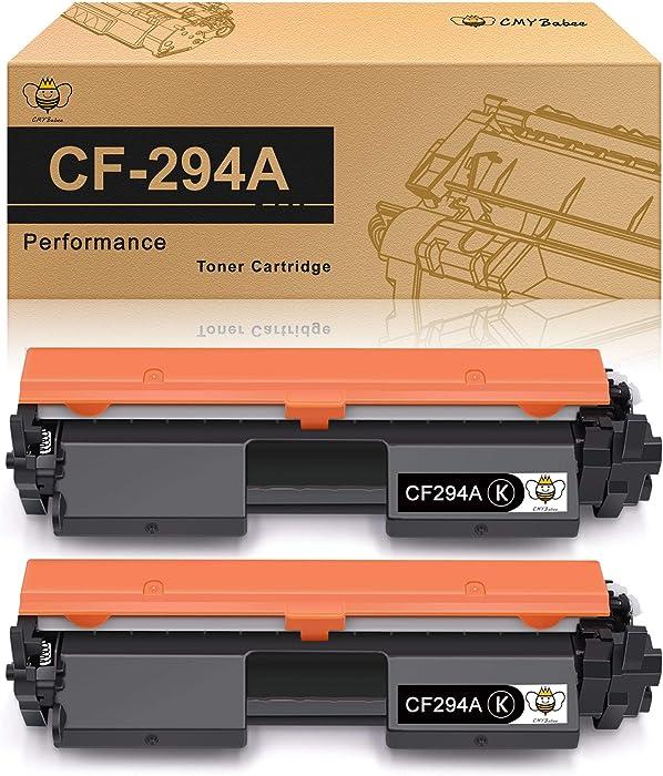 CMYBabee Compatible Toner Cartridge Replacement for HP 94A CF294A Toner Cartridge for PRO M118 M118dw MFP M148 M148dw M148fdw (Black, 2-Pack)