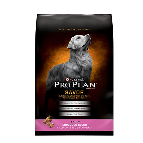Purina Pro Plan Savor Shredded Blend Formula Dry Dog Food Review