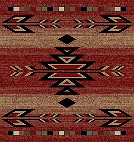 Mayberry Rugs Rio Grande Area Rug, 7 10 x9 10 , Red