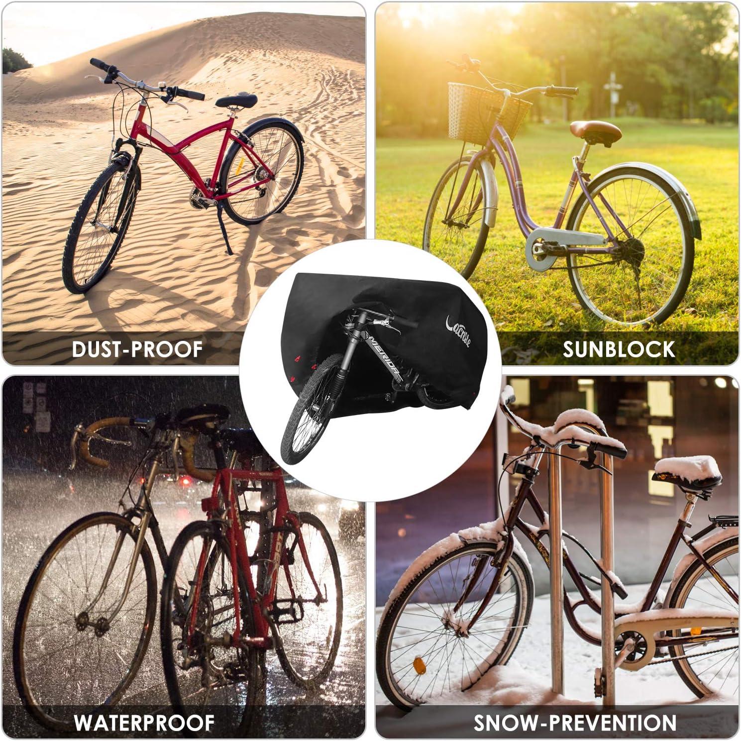Davandi Bike Cover XL-Imperméable Outdoor vélo Stockage pour 2 vélos-Heavy