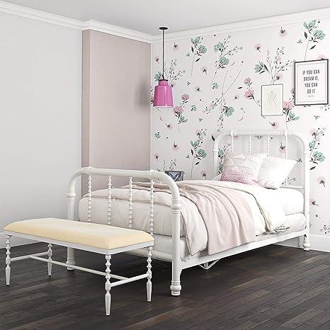 Amazon.com: DHP Jenny Lind - Estructura de cama de metal con ...