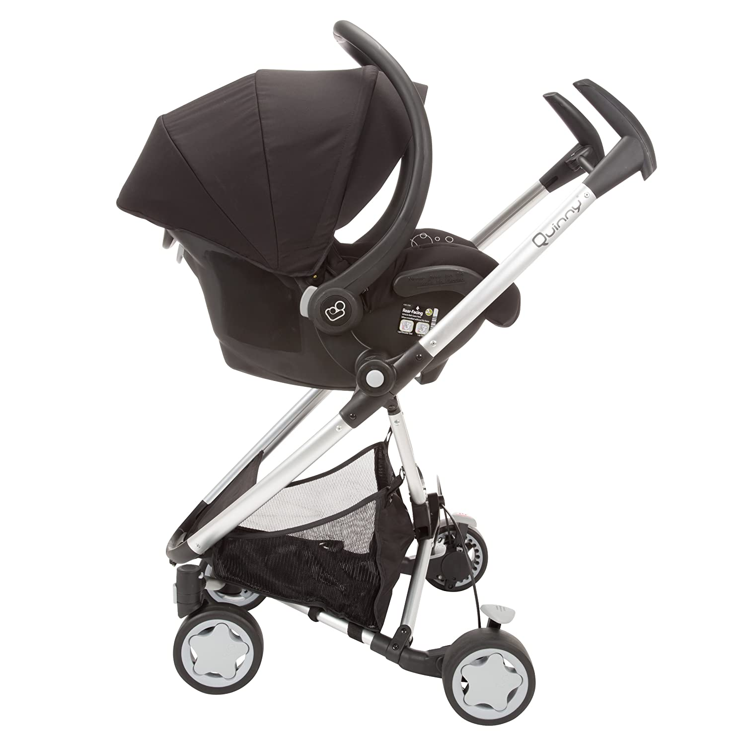 Amazon.com : Quinny Zapp Xtra Stroller with Folding Seat, Pink ...
