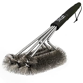 "Flash venta – idocare 18 ""alambre Grill Brush – 3 cepillos de acero inoxidable"