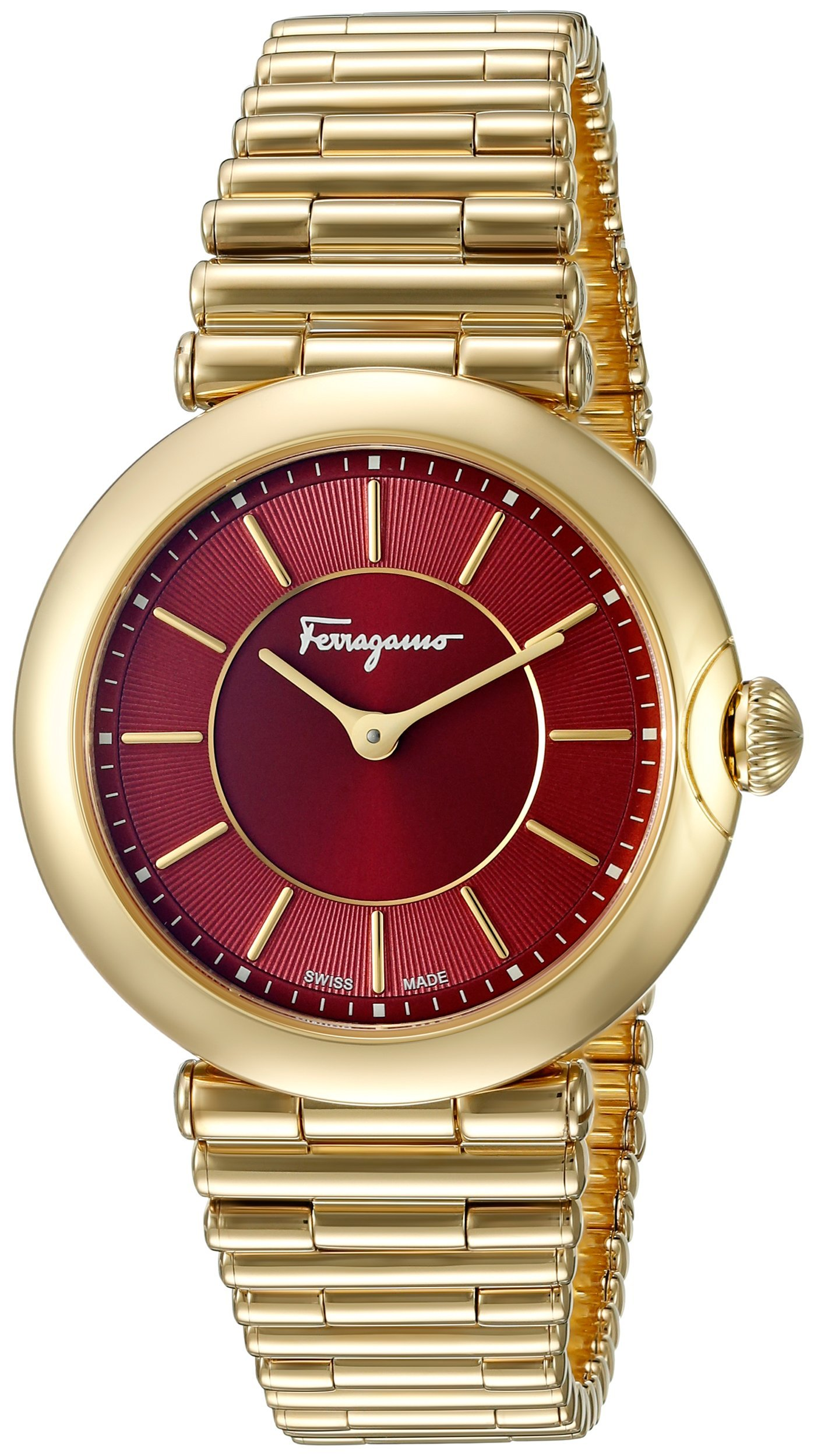 Salvatore Ferragamo Women's FIN060015 Style Analog Display Quartz Gold Watch by Salvatore Ferragamo