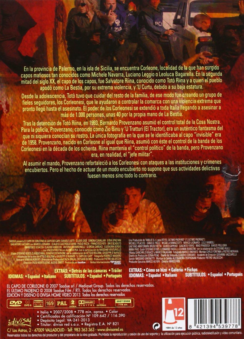 Los Padrinos De La Cosa Nostra [DVD]: Amazon.es: Simona Cavallari, Gioia Spaziani, Luca Angeletti, Claudio Angelini, Michele Placido, Daniele Pecci, ...